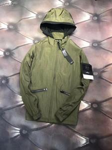 más nueva calle retro hombre Trench Coats chaquetas pareja golpe de nylon en color de alta calidad de costura cremallera YKK acceso rompevientos con capucha