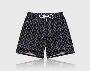 2020 Mens Shorts Designer Mens Summer Fashion Beach Pants Mens Shark Print Cotton High Quality swimming Short