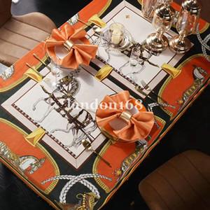 Avrupa tarzı turda çok 150 cm Lüks Masa Örtüleri Moda Yemek masası Dekorasyon püskül masa örtüleri