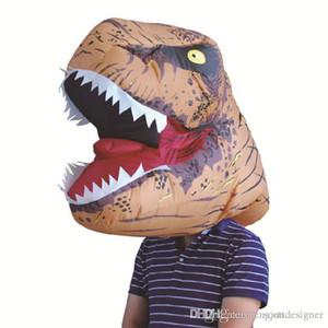 Adulte Tyrannosaurus Rex Costume Party Style de Halloween Carnaval capot festival gonflable pour hommes Costume Play Apparel