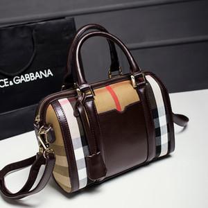 Moda casual mulheres saco de Mão sacos Big bag Cross Body Sacos de Ombro de Alta qualidade PU + Genuíno Bolsas De Couro Grandes sacos de compras Tote H36731