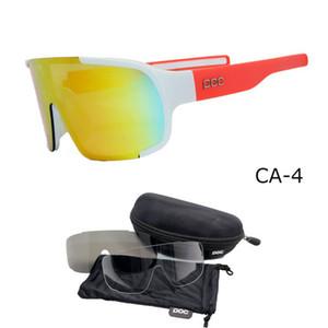 Top quality New POC Cycling Glasses Bike Sport Sunglasses Men Women Mountain Bicycle Cycle Eyewear lentes de sol para Outdoor Eyewear
