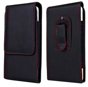 Novo pacote da cintura dos homens belt clip bag para iphone 8 7 6 6 s plus pouch coldre case capa para samsung htc htc clássico phone case