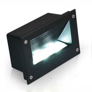 10pcs Blanc Chaud 5w Led Corner Lights AC85-265v Embarqué Escalier Étape Lampe De Jardin Souterrain Lumière Extérieure Imperméable À L'eau