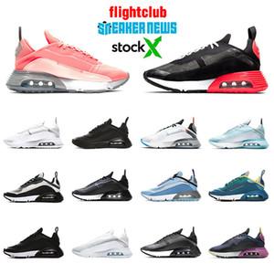nike air max 2090 airmax En kaliteli hava 2090 womens koşu ayakkabıları Lava Glow ördek Camo saf Platin Foton toz siyah üzüm Max tasarımcı eğitmenler Sneakers