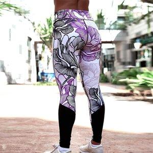 Imprimir calças Yoga Mulheres Único de Fitness Leggings Sports treino de corrida Leggings Sexy Push Up GYM WEAR Elastic magros Pants