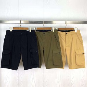 Sweatpants Homme Mens famosa Shorts Mens Pants Verão recreativas Shorts Moda 3 Cores Shorts Carga Relaxado