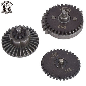 Sinairsoft Steel Cnc Machining R85 Original Torque Speed Gear Set For R85 L85 Aeg Bb Airsoft Gearbox Paintball Hunting Target