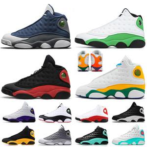 Nike Air Jordan retro 13 Brand 13s Atmosphere Grigio Terracotta Blush Chicago Scarpe da basket XIII Clot Melo DMP Nero Infrared Cat Flint Class of 2002 Mens Trainers