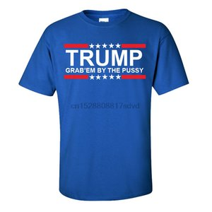 2019 Mode Hot vente Grab Em By The Pussy T-shirt - Trump États-Unis Président Joke - Adultes Enfants Tailles Tee shirt