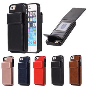 ترف الهاتف المحفظة حالة الهاتف للحصول على غطاء iPhone6 / 6S 7/8 حالات زائد X XS ماكس XR لسامسونج مع بطاقة الجيب