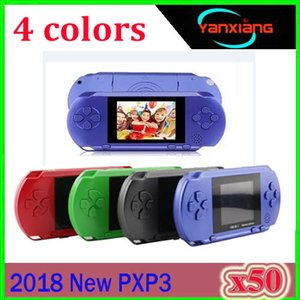 10PCS TV Video Handheld Game Console PXP3 16Bit Game Players Gameboy PXP Mini Gaming Consoles for GBA Games Wholesale DHL ZY-PXP-1