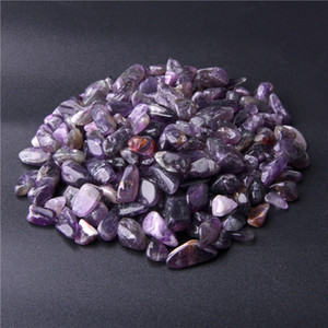 9-12mm Natural Amethyst Quartz Crystal Polished Gravel Chips Specimen Gemstone Minerals Fish Tank Stone