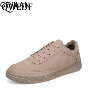 QWEDF 2019 nouveaux hommes chaussures de sport jeunes hommes chaussures confortables baskets doux printemps été respirante mode chaussures plates DD-025