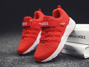 Boys Shoes 2019 Red New Style Students In Children S Net Shoes Mesh Ventilation Casual Shoes