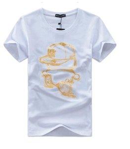 2019 Fashion Designer Marque P-P chaud forage Skulls T-shirt Vêtements pour hommes T-shirts pour hommes Hauts manches courtes T-shirt