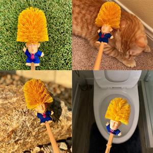 Donald Trump Toilet Brushes Rendi i tuoi bagni ancora una volta doccia Piastrella in ceramica Piastrelle per manico Strumenti di pulizia 120pcs AAA1495
