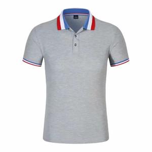 Top Grade roupas de trabalho Publicidade Camisa Cultural customizável Fold-down Collar palavras impressas Logo