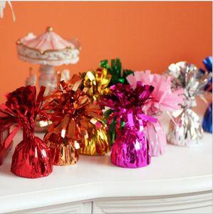 Ballon Gewichte Helium-Party-Ballon-Gewichte für Hochzeit Geburtstag Jahrestag Baby-Partei-Süßigkeit-Farbe Sweety-Partei-Dekoration