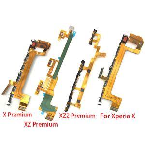 Interrupteur d'alimentation sur Off Touche de volume Bouton Up Down Câble Flex pour Sony Xperia X XZ prime XZ2 Comppact XZ3 Bouton latéral