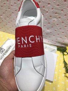 Оптовая дешевые белые натуральные кожаные открытые туфли Fashions дизайнер женщин мужские черные сращивания повседневная обувь 5 цветов Низкие кроссовки размер 35-45
