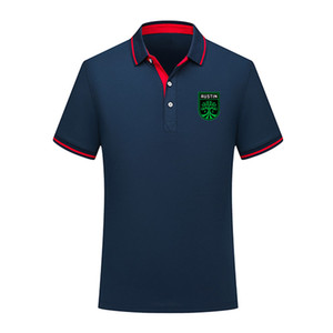 MLS Austin FC Futbol Tişört Futbol Kısa Kollu polos Moda Spor eğitimi Polos Futbol Futbol Tişört Jersey Erkekler Polos