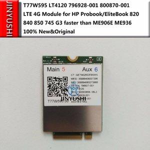 Бесплатная доставка T77W595 LT4120 796928-001 800870-001 сеть 4G модуль для HP ноутбук/ноутбук EliteBook 820 840 850 745 Г3 быстрее, чем ME906E ME936
