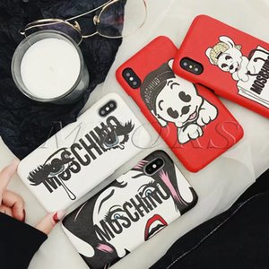Classique drôle Eye cas de téléphone mignon tpu animal Shell pour iPhone 11 PRO X XS MAX XR 8 8plus 7 7plus 6 6s, plus 11Pro Trendy Cover