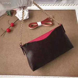 Pink sugao designer handtaschen umhängetasche kuh echtes leder kette kupplung frauen geldbörse 41638 # druck brief blume shoudler tasche 6 farbe