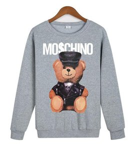DESIGNERS hommes européens hoodies Imprimer Hoodies hommes des femmes de sweat-shirts de jogging sport s - 3XL m1Moschino