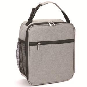 Oxford pano portátil isolamento Bag Lunch Box Lunch Bag Outdoor Picnic Lunch Box Bag (almoço sacos projetados para homens Adultos Mulheres)