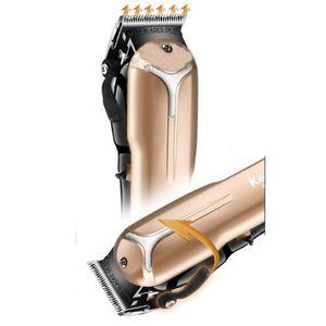 Kemei Km-2613 Retro huile Tête électrique sans fil coupe-boutique dédiée à haute puissance Gradient Raisonnement Clipper cheveux EU Plug