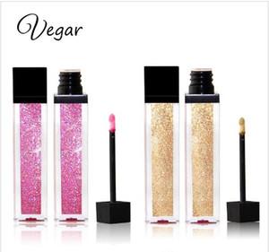 Vegar Marken Metal Flüssiger Lippenstift 11 Farben Wasserdicht Makeup Metallic Lip Gloss Langlebig Shimmer Glitter Lipgloss Tint