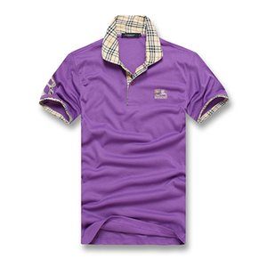 Рубашки поло Maserati Crown Golf Тонкие удобные дизайнерские рубашки поло с хлопковой смесью для мужчин, размер M-3XL
