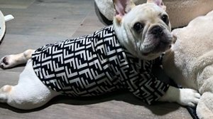 pet giysi sıcak nefes doku f Tide marka yumuşak yakalı kazak Pet köpek giysileri kazak fen