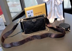 2020 M44823 kleiner Geldbeutel moderne neue dreiteilige Handtasche Leder gute Qualität Umhängetasche Damen Geschenke heiße Kameratasche hei 02