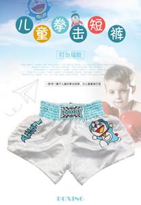 Muay thai pantaloncini della ragazza Junior Muay Thai Shorts kick boxing Pantaloncini da pugile per bambini e giovani