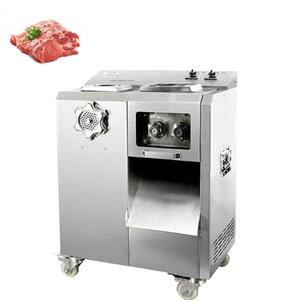 Commercial Affettatrice verticale-tipo di carne Affettatrice Meat elettrica tagliatrice 2200W Power grande Meat Grinder Cutter