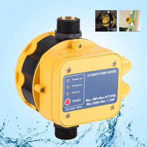 Freeshipping Automatic Water Pump Pressure Switch Electric Water Pump Pressure Controller With Press Gauge For Water