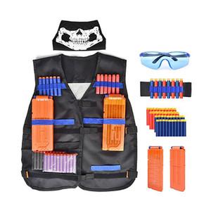 navette jouets Équipement tactique enfants Gun Bullet Magazine Gun Accessoires clip Mega jouets éducatifs pour enfants
