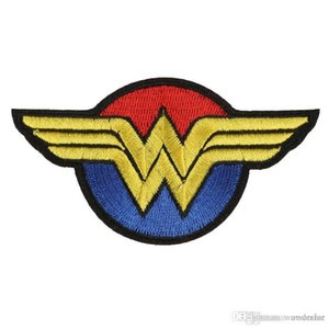 Wonder Woman Embroidery Patches For Clothes Superhero Sewing Iron On DIY Patch Badge Applique for Jacket Jeans Shoes Backpack Badges