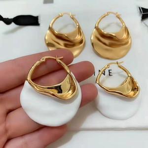 Alta calidad de la joyería de lujo de diseño pendientes de bronce cuelga los pendientes para el envío libre de las mujeres aretes de joyería de moda