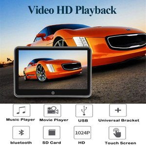 """Ultrathin 10.1 """" Car Headrest Touch Screen Monitor HD 1080P LCD Bluetooth Auto Multimedia Mp5 Video Player Built-in Speaker"""