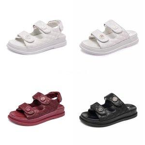 Yeni Kadın Sandalet Yaz Rahat Sahte Süet Düz Comfortablesize 34-40 Casual Ayakkabı Zapatos Mujer Boyut Ayakkabı 34-40 Yp-87 CO02 # 368