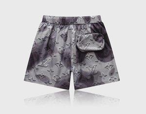 جيب المصممين يقصر رجل موضة الملابس الداخلية الفاخرة عارضة السراويل الرياضية تصفح السباحة شاطئ رسالة مطبوعة الرباط السراويل
