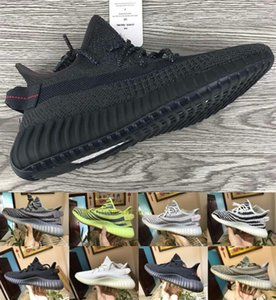 Com Box StockX Big Size US 13 Reflective Homens Mulheres Running Shoes Kanye West Sneakers Trainers Sports Racer Designer Triplo Designer Shoes