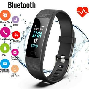 Y1 블루투스 스마트 시계 스포츠 팔찌 피트니스 추적기 방수 Smartwatch를 밴드가 iOS 안드로이드