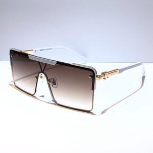 9808 nueva moda popular gafas de sol para hombre y para mujer del estilo del marco completo de calidad superior UV400 de los vidrios libres vienen con la caja Z9808E
