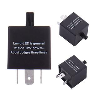 LED lampeggiatore 12V a frequenza variabile LED CF14 3 Pin Regolare 12V relè auto del lampeggiatore Spia degli indicatori Blinker Luce 2019