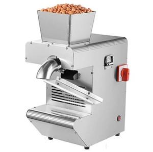 Nueva automático Aceite de Oliva prensa de la máquina fría y caliente Nuts eléctricos semillas oleaginosas Presser presionar Comercial LLFA